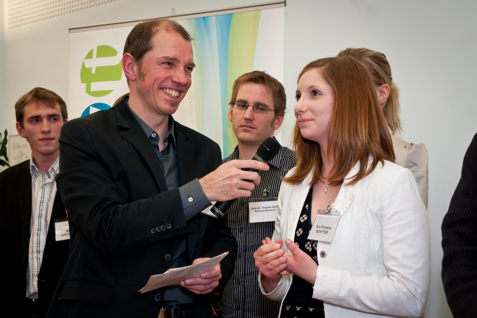 Auszeichnung der PraktikantInnen von 2010