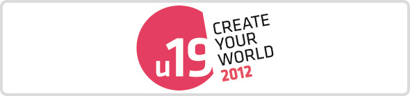 Logo Wettbewerb u19 – Create Your World