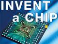 """Logo SchülerInnen-Wettbewerb """"Invent a Chip"""""""