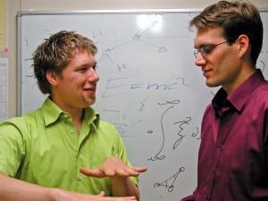 Stefan Kalchmair und Clemens Ostermaier