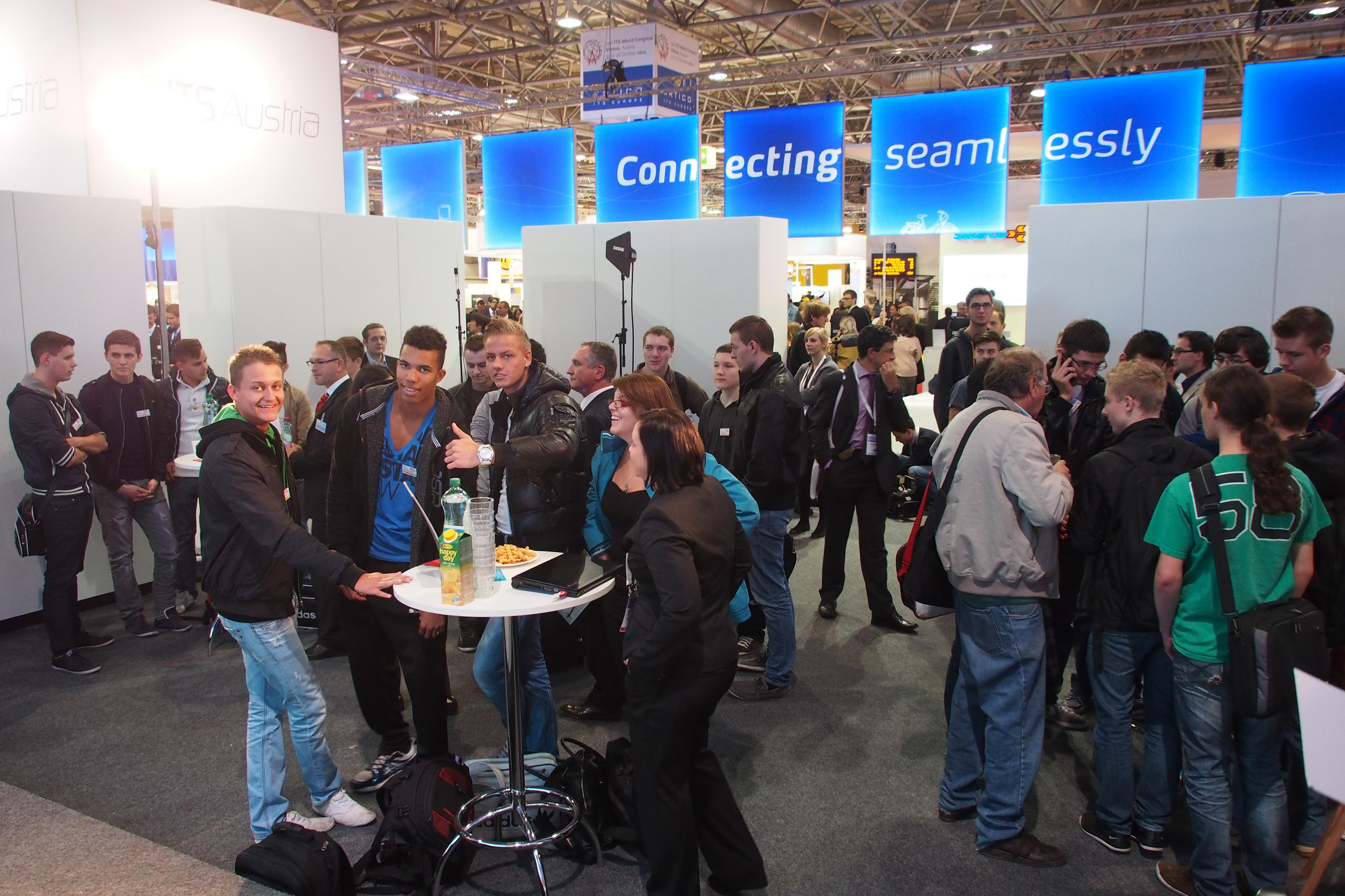 fti...remixed Speeddating beim ITS World Congress
