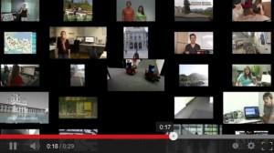 Übersicht aller eingereichten Video