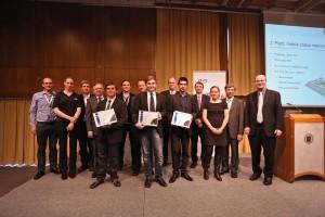 Siegerehrung Invent a Chip 2. Preis HTL Bulme Graz