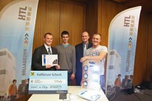 1. Platz ging an Florian Seidl (HTL Hollabrunn)