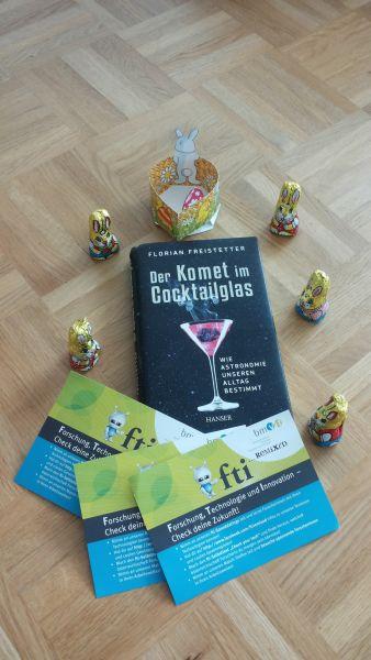 Gewinne das Buch Komet im Wasserglas von Florian Freistetter