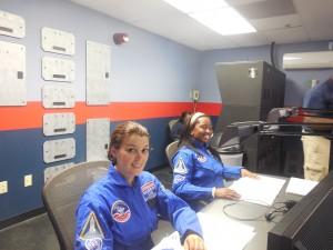Frau Weber hatte als Base Commander die Gesamtverantwortung für das Gelingen der Mission.
