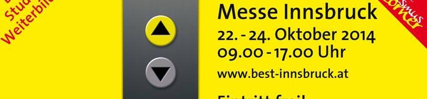 Logo der BESt Messe Innsbruck - Messe für Studium, Beruf und Weiterbildung