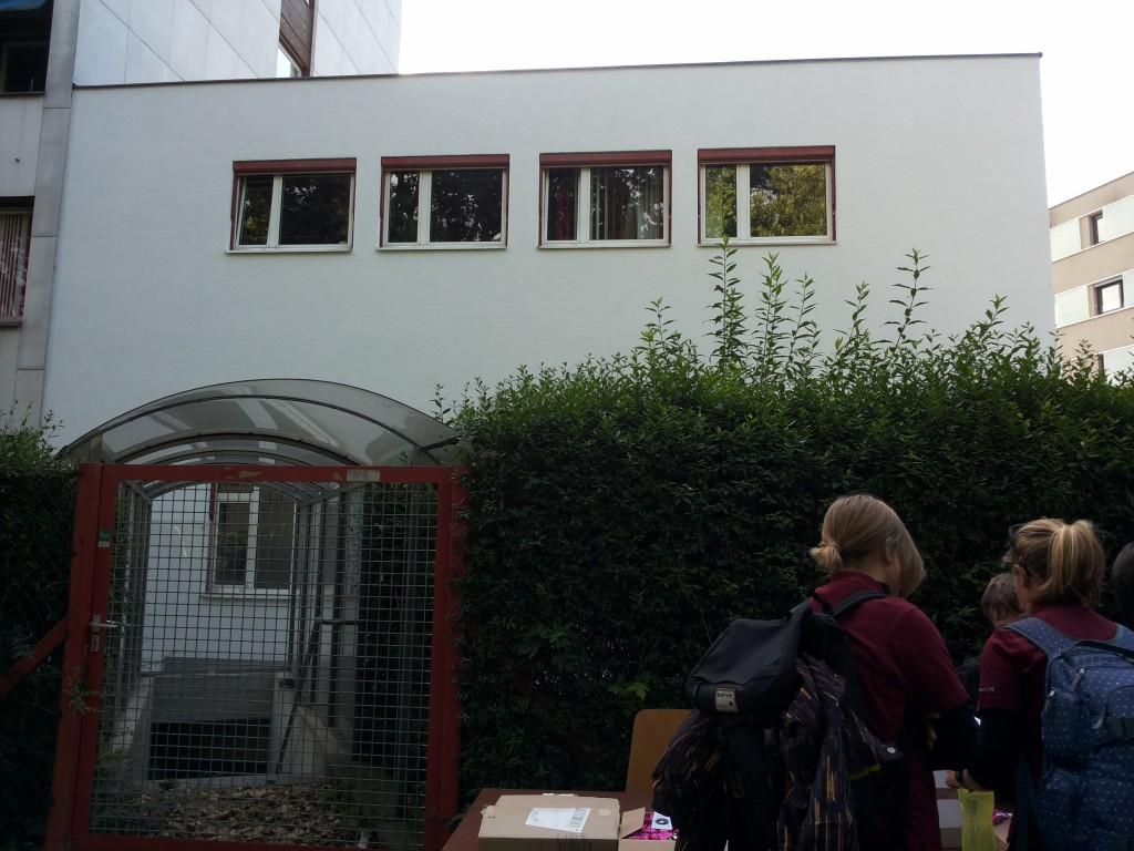 Haus des Österreichischen Weltraum Forums Vorderseite