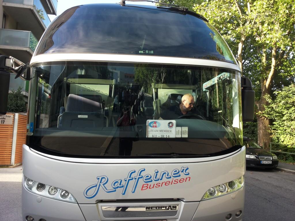 Unser Bus zum Kaunertaler Gletscher