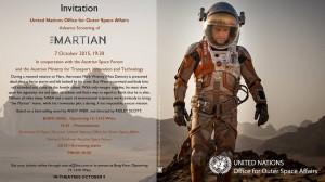 Martian Vorpremiere des Filmes