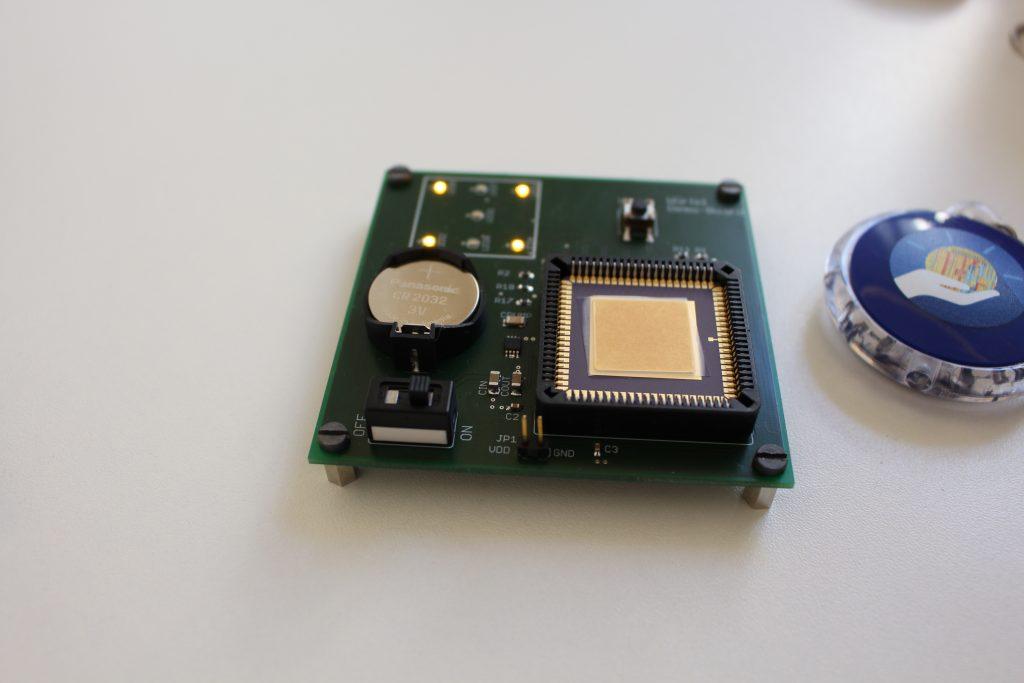 Von den Schülerinnen Entwickelter Chip für den Medizinbereich