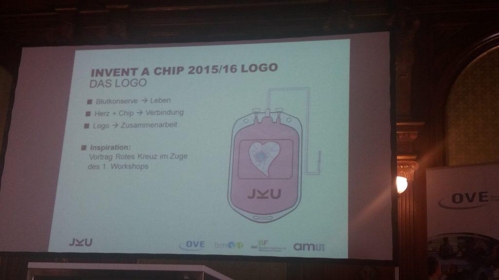 prämiertes Design: Logo Invent a Chip