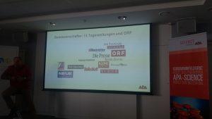 13 Tageszeitungen und der ORF sind Genossenschafter der APA