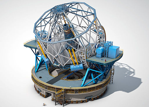European Extremely Large Telescope Quelle: ESO https://de.wikipedia.org/wiki/European_Extremely_Large_Telescope