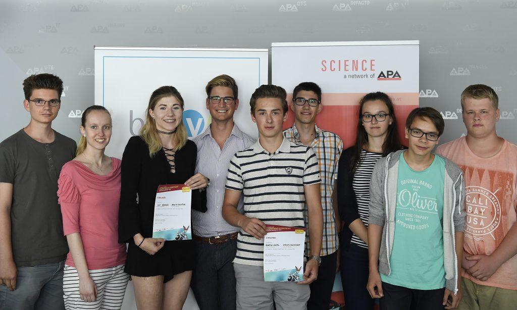 Finalistinnen und Finalisten LNF Content Contest 2016
