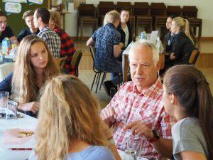 Spannende Gespräche mit Helmut Biberger