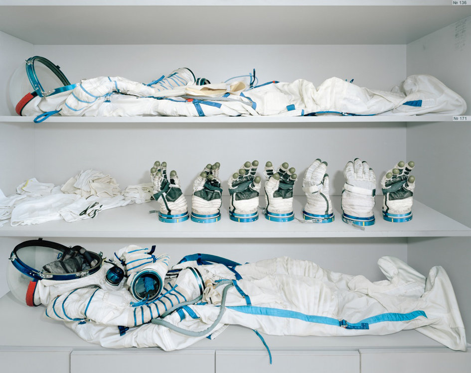 Astronauten Umkleideraum