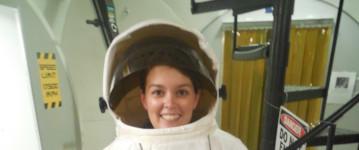 Junge Astronautin