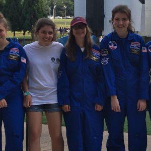 Teilnehmerinnen Space Camp 2018