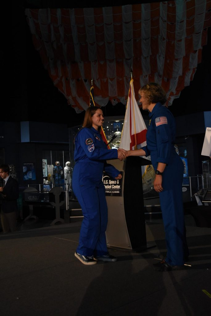 Bei der Space Camp Feier 2018