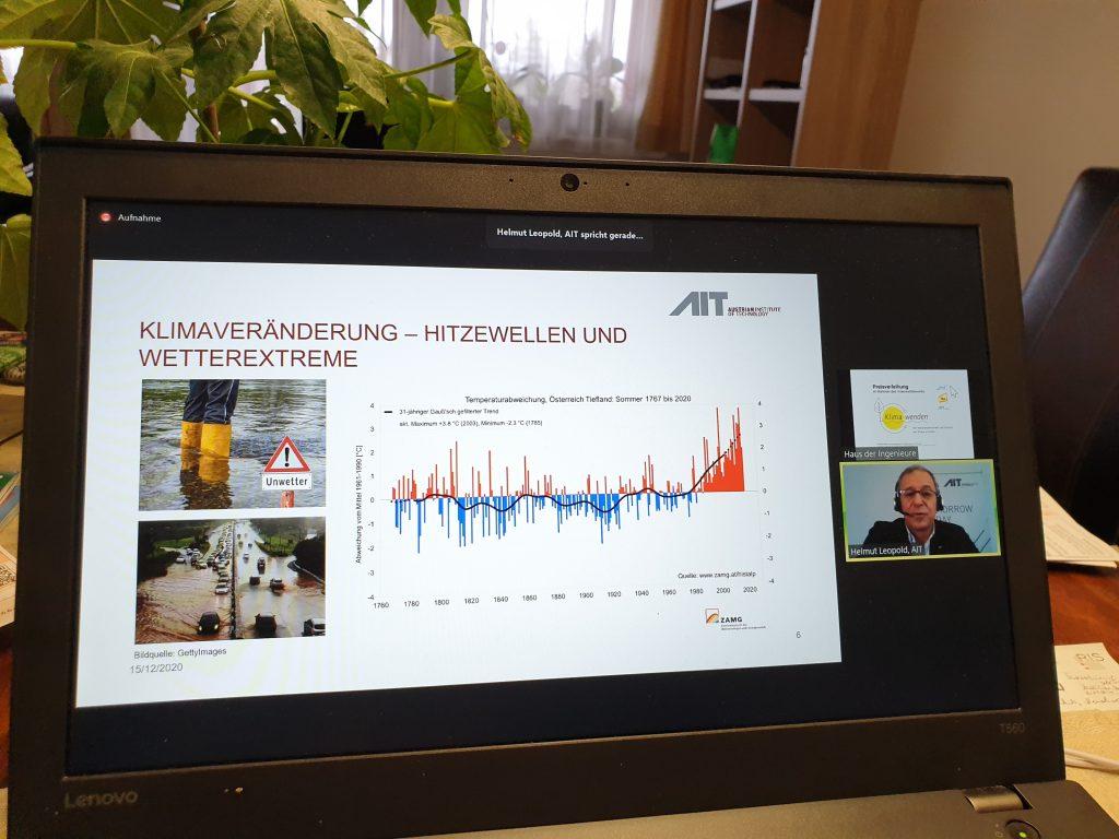Austrian Institute of Technology - Forschungsprojekt über Klimaveränderungen
