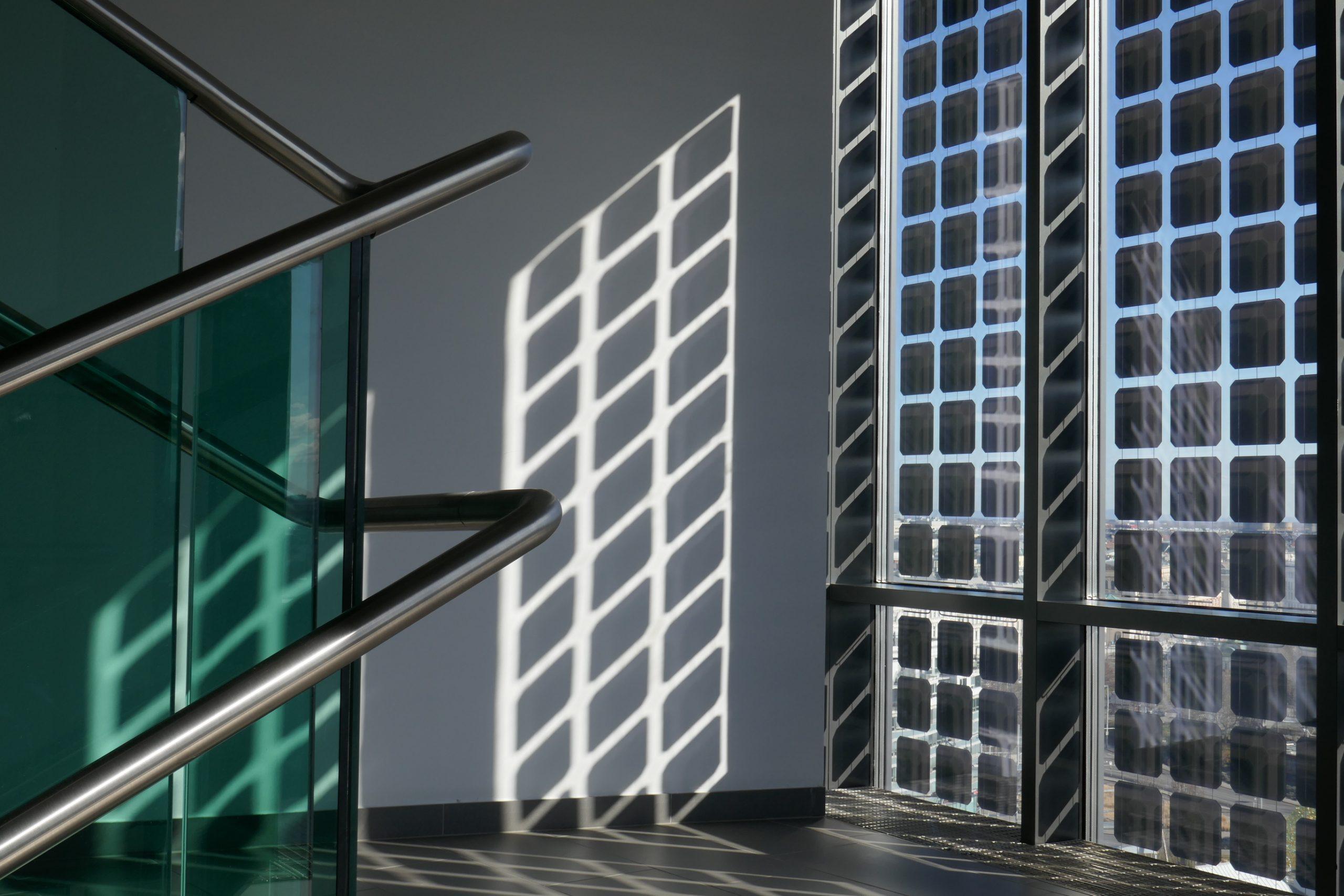 Bild im inneren eines nachhaltigen Gebäudes