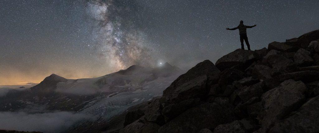 Nationalpark Hohe Tauern bei Nacht @Fabian Dulpiaz