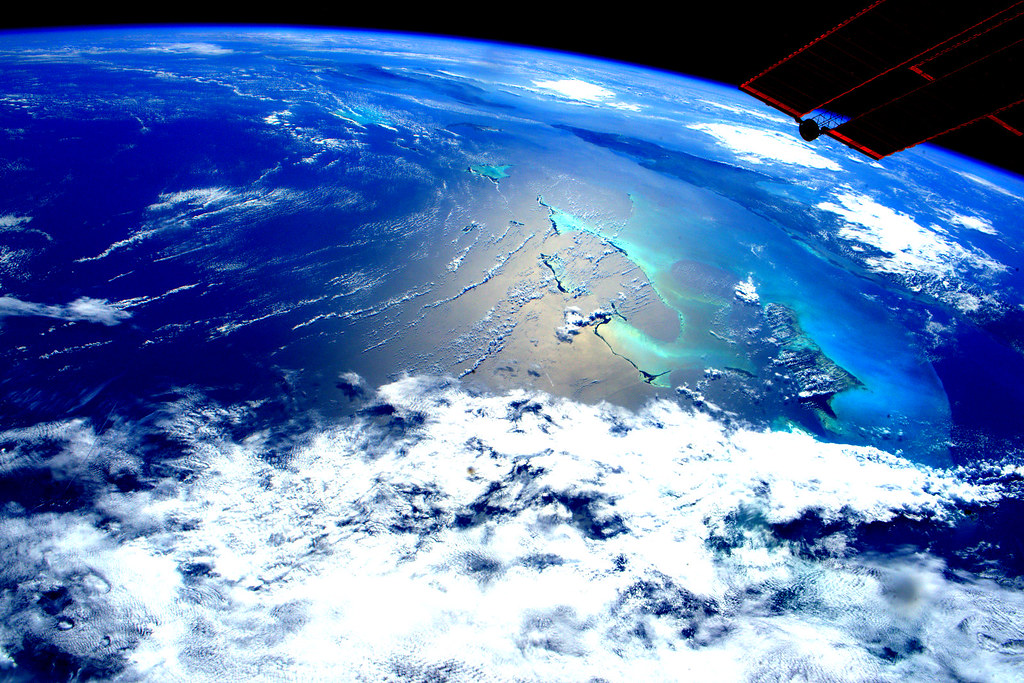 """""""Earth observation taken by the Expedition 46 crew"""" by NASA Johnson is licensed under CC BY-NC 2.0"""